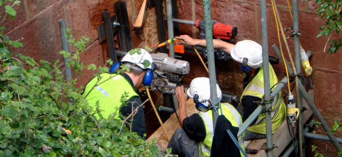 Stitch Drilling Works in Progress
