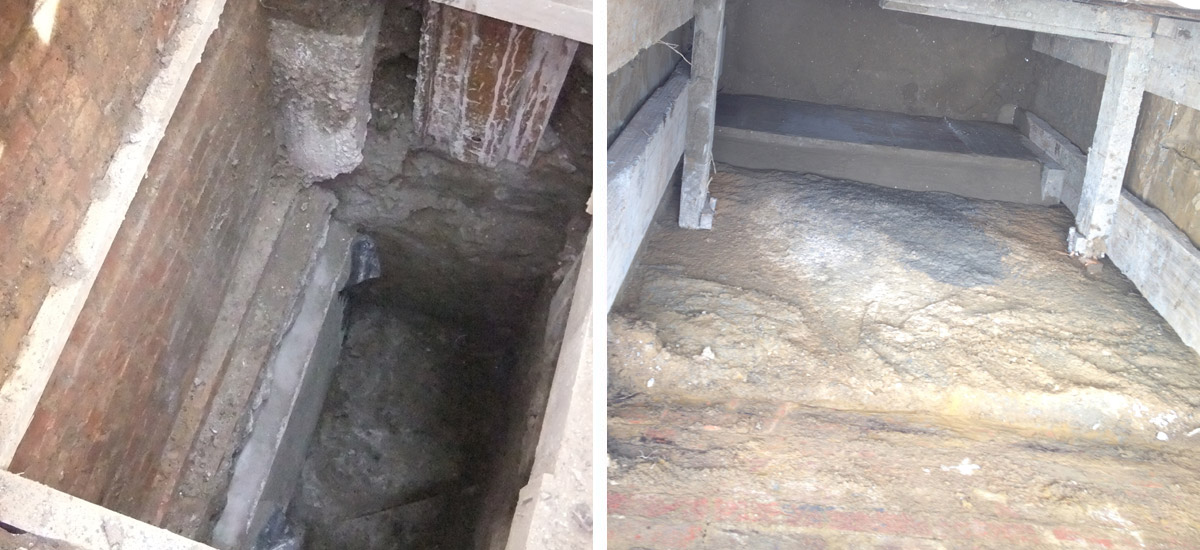 Mass Concrete Underpinning - Falcon Structural Repairs Ltd